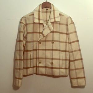 Plaid Ellen Tracy coat